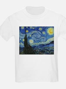 The Starry Night by Van Gogh T-Shirt
