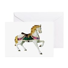 Carousel Horse Greeting Cards (Pk of 10)