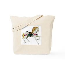 Carousel Horse Tote Bag