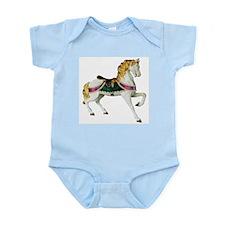 Carousel Horse Infant Creeper
