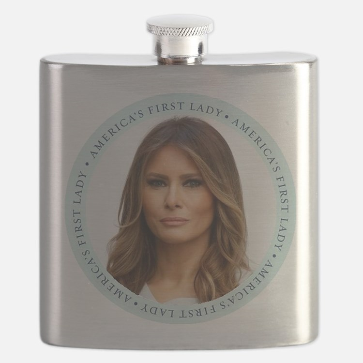 Cute First lady Flask