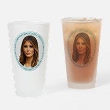 Cute First lady Drinking Glass