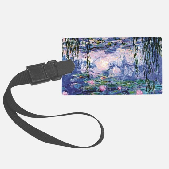 Unique Water lilies Luggage Tag