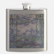 Unique Water lilies Flask