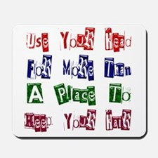 Use Your Head Mousepad