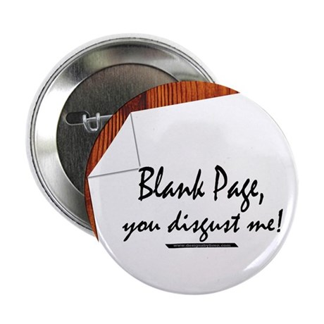 """Blank Page 2.25"""" Button (10 pack)"""