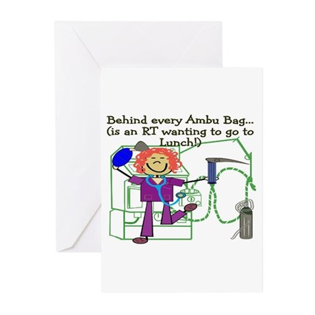 Funny Respiratory Therapy Greeting Cards