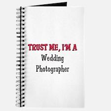 Trust Me I'm a Wedding Photographer Journal