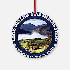 Lake District NP Round Ornament