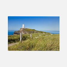 Lighthouse on Llanddwyn Island, Anglesey, Magnets
