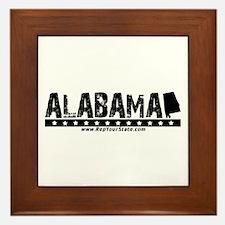 Alabama Framed Tile