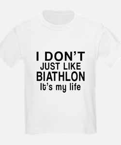 Biathlon It Is My Life T-Shirt