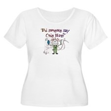 Respiratory Therapy Plus Size T-Shirt