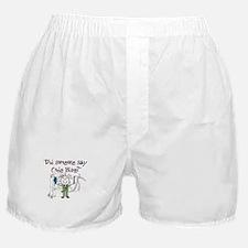 Cute Respiratory therapist Boxer Shorts