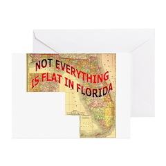 Flat Florida Greeting Cards (Pk of 10)