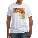 Flat Florida Fitted T-Shirt