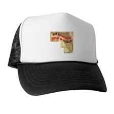 Flat Florida Trucker Hat