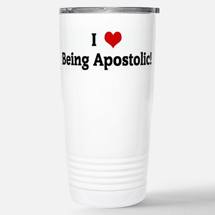 Cute Apostolic Travel Mug