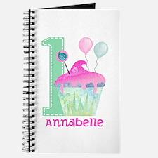 Baby Girl 1st Birthday Journal