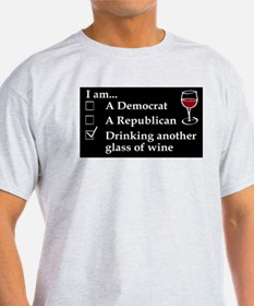 Unique Republican wine T-Shirt