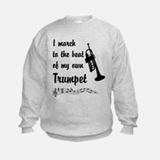 March to the Beat: Trumpet Sweatshirt