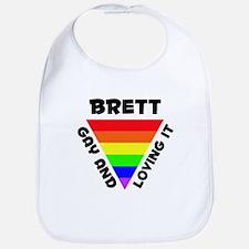 Brett Gay Pride (#006) Bib