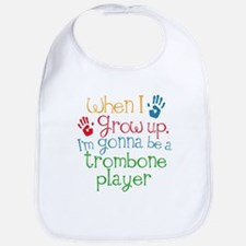 Future Trombone Player Baby Bib