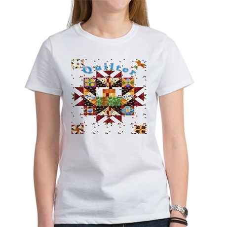 Country Cottage Quilter Women's T-Shirt
