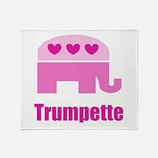 Trumpette Throw Blanket