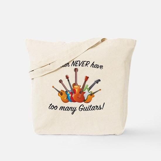 Cute Funny guitar Tote Bag