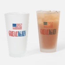 Great Again Drinking Glass