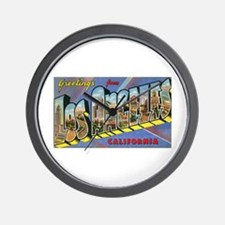 Los Angeles Vintage Wall Clock