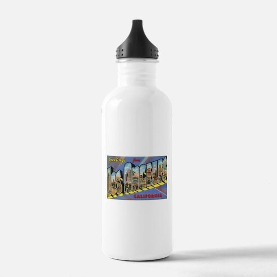 Los Angeles Vintage Water Bottle