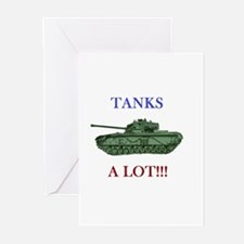 Tanks A Lot s Greeting Cards