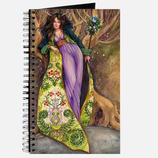 Cute Antlered goddess Journal