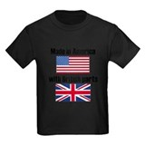 British flag Kids T-shirts (Dark)