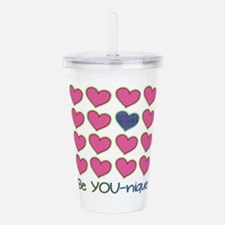 Be YOUnique Acrylic Double-wall Tumbler