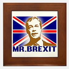 Mr Brexit Framed Tile