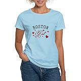 Boston massachusetts Women's Light T-Shirt