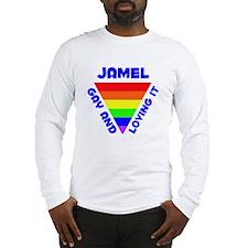 Jamel Gay Pride (#005) Long Sleeve T-Shirt