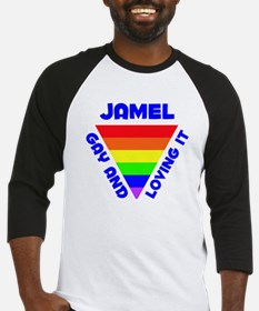 Jamel Gay Pride (#005) Baseball Jersey