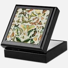 Cute Moths Keepsake Box