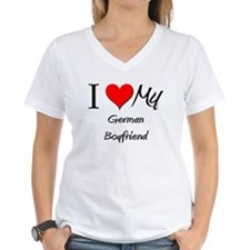 I Love My German Boyfriend Shirt