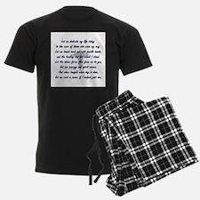 Physical Therapist prayer Pajamas