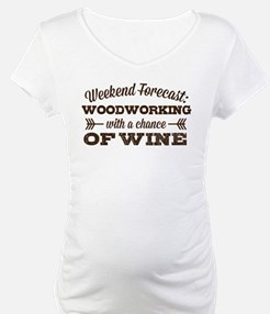 Woodworking and Wine Shirt