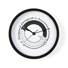 Longcat Vs Tacgnol Wall Clock