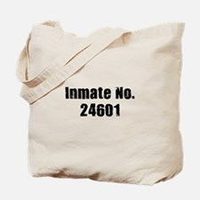 Inmate Number 24601 Tote Bag