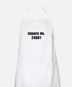 Inmate Number 24601 BBQ Apron