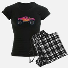 Monster Truck Pink Pajamas