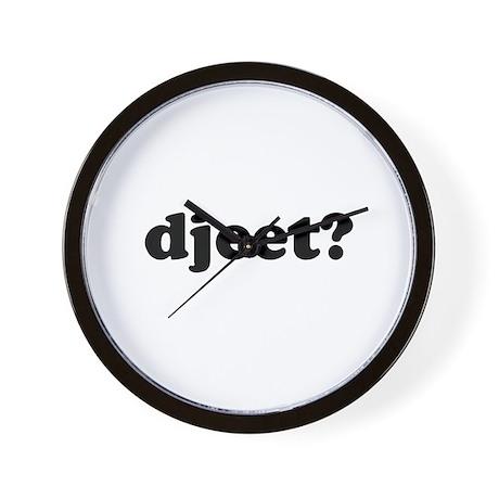 Djeet? Wall Clock